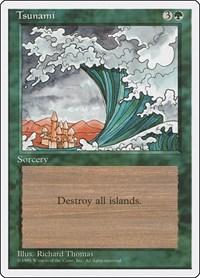 Tsunami, Magic: The Gathering, Fourth Edition