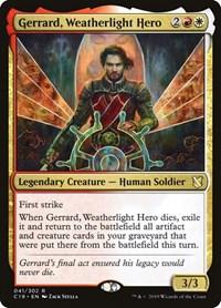 Gerrard, Weatherlight Hero, Magic, Commander 2019