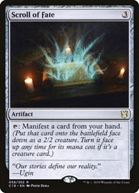 Scroll of Fate, Magic: The Gathering, Commander 2019