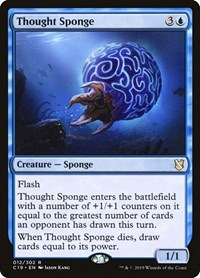 Thought Sponge, Magic: The Gathering, Commander 2019