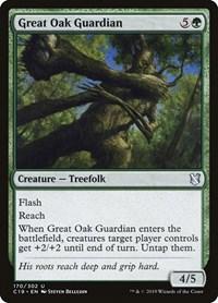 Great Oak Guardian, Magic: The Gathering, Commander 2019