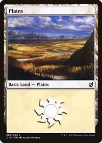 Plains (288), Magic: The Gathering, Commander 2019