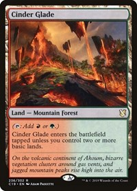 Cinder Glade, Magic: The Gathering, Commander 2019