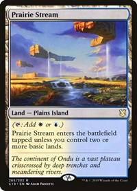 Prairie Stream, Magic: The Gathering, Commander 2019