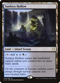 Sunken Hollow, Magic: The Gathering, Commander 2019