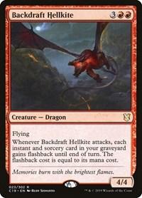 Backdraft Hellkite, Magic, Commander 2019