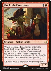 Dockside Extortionist, Magic: The Gathering, Commander 2019