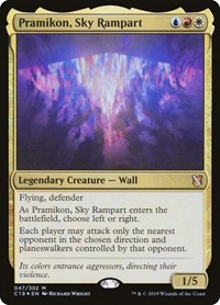 Pramikon, Sky Rampart, Magic: The Gathering, Commander 2019