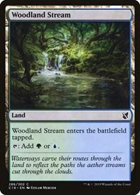 Woodland Stream, Magic, Commander 2019