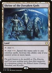 Shrine of the Forsaken Gods, Magic: The Gathering, Commander 2019