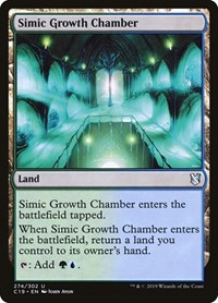 Simic Growth Chamber, Magic: The Gathering, Commander 2019