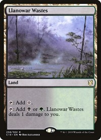 Llanowar Wastes, Magic: The Gathering, Commander 2019