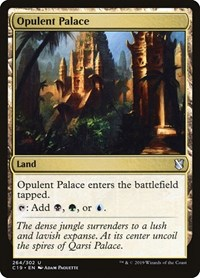 Opulent Palace, Magic: The Gathering, Commander 2019