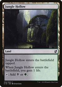 Jungle Hollow, Magic: The Gathering, Commander 2019
