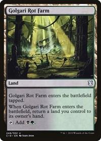 Golgari Rot Farm, Magic: The Gathering, Commander 2019
