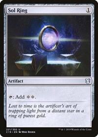 Sol Ring, Magic: The Gathering, Commander 2019