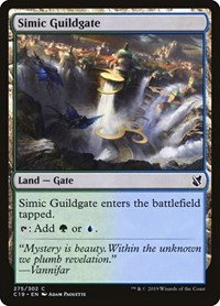 Simic Guildgate, Magic: The Gathering, Commander 2019