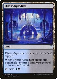 Dimir Aqueduct, Magic: The Gathering, Commander 2019