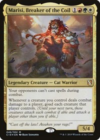 Marisi, Breaker of the Coil, Magic, Commander 2019