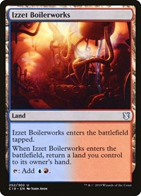 Izzet Boilerworks, Magic: The Gathering, Commander 2019