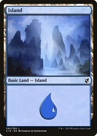 Island (292), Magic: The Gathering, Commander 2019