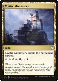Mystic Monastery, Magic, Commander 2019