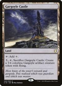 Gargoyle Castle, Magic, Commander 2019