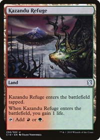 Kazandu Refuge, Magic: The Gathering, Commander 2019