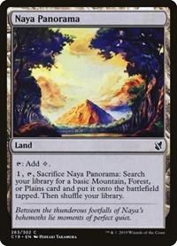 Naya Panorama, Magic, Commander 2019