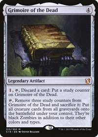 Grimoire of the Dead, Magic: The Gathering, Commander 2019