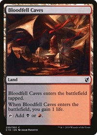 Bloodfell Caves, Magic: The Gathering, Commander 2019