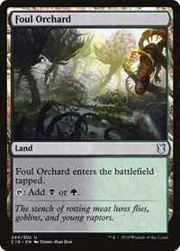 Foul Orchard, Magic: The Gathering, Commander 2019