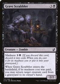 Grave Scrabbler, Magic: The Gathering, Commander 2019