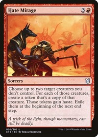 Hate Mirage, Magic: The Gathering, Commander 2019