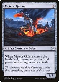 Meteor Golem, Magic: The Gathering, Commander 2019