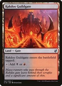 Rakdos Guildgate, Magic, Commander 2019