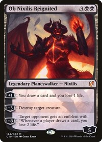 Ob Nixilis Reignited, Magic: The Gathering, Commander 2019