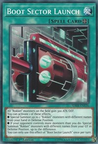 Boot Sector Launch, YuGiOh, Structure Deck: Rokket Revolt