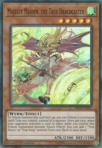 Majesty Maiden, the True Dracocaster, YuGiOh, Fists of the Gadgets