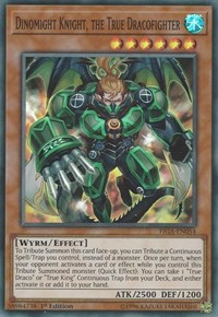 Dinomight Knight, the True Dracofighter, YuGiOh, Fists of the Gadgets