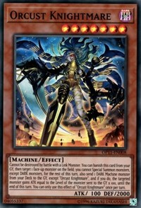 Orcust Knightmare, YuGiOh, OTS Tournament Pack 11