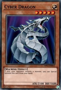 Cyber Dragon, YuGiOh, OTS Tournament Pack 11