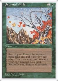 Untamed Wilds, Magic, Fourth Edition