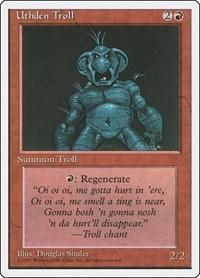 Uthden Troll, Magic, Fourth Edition