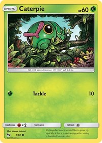 Caterpie, Pokemon, Hidden Fates