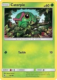 Caterpie, Pokemon, Hidden Fates
