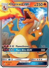 Charizard GX, Pokemon, Hidden Fates