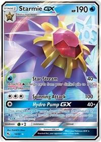 Starmie GX, Pokemon, Hidden Fates