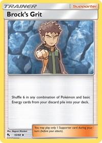 Brock's Grit, Pokemon, Hidden Fates
