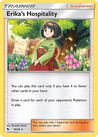 Erika's Hospitality, Pokemon, Hidden Fates